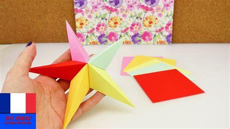 faire soi meme une etoile en origami idee diy de
