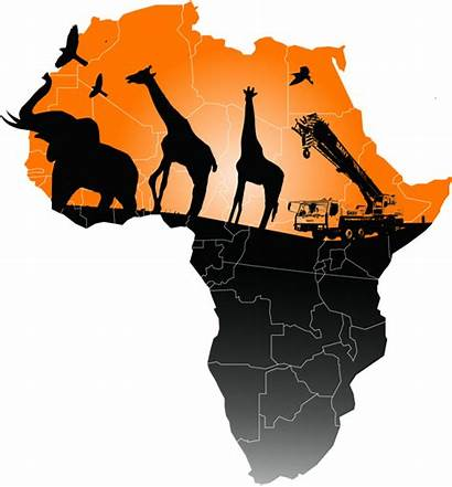Africa Map Transparent Clipart Clip Facts Fun