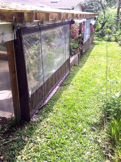 clear vinyl patio enclosure weather curtain residential