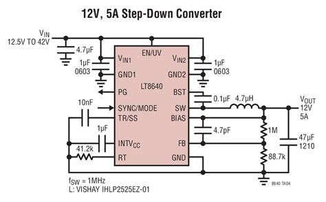 Step Down Converter With Low Emi Circuit