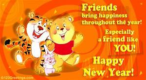 Happy New Year To U! Free Friends eCards, Greeting Cards ...