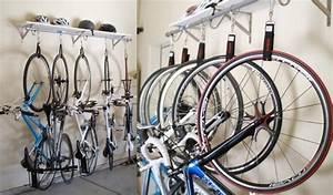 Fahrrad Haken Zum Aufhängen : fahrradhalterung f r wand selber bauen 30 ideen anleitung ~ Markanthonyermac.com Haus und Dekorationen