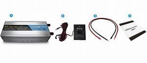 Pure Sine Wave Power Inverter 1500w  3000w 12v