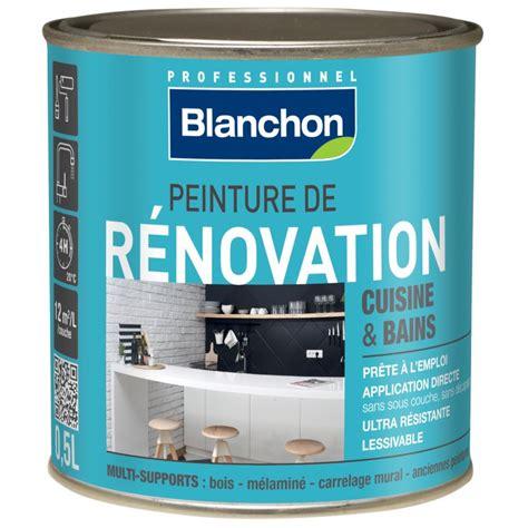 peinture cuisine bleu peinture rénovation cuisine salle de bain 0 5l bleu