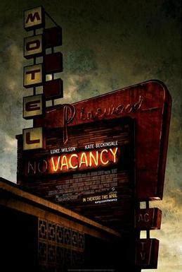 vacancy film wikipedia