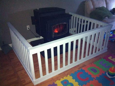 gate        pellet stove
