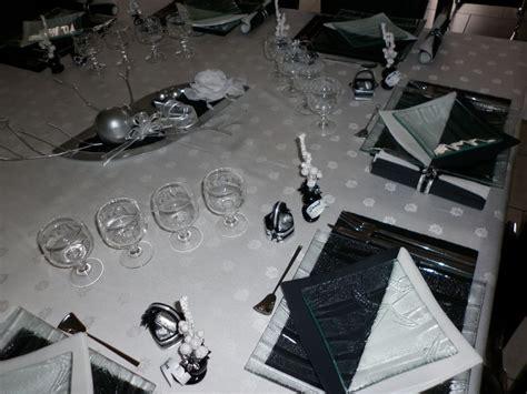 table de no 235 l blanc noir et argent les cr 233 ations d 233 co de marsouille