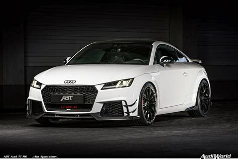 The 2018 Abt Audi Tt Rs And Limited Edition Abt Audi Tt Rs