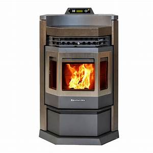 Comfortbilt 2800 Sq  Ft  Epa Certified Pellet Stove With 80 Lbs  Hopper And Programmable