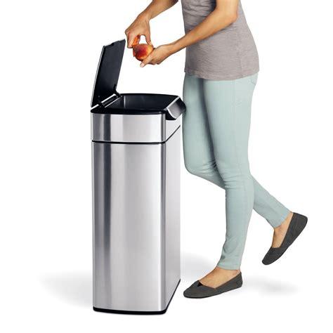 poubelle pour cuisine avis sur la poubelle simplehuman 40l touch bar inox