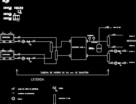 scheme air conditioning by water dwg block for autocad designs cad