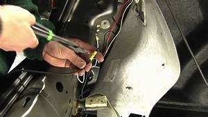 Installation Of A Trailer Wiring Harness On A 2012
