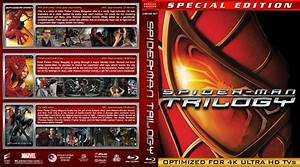 Spider-man Trilogy blu-ray covers (2002-2007) R1 Custom