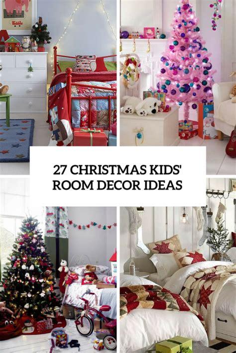 cool  fun christmas decor ideas  kids rooms