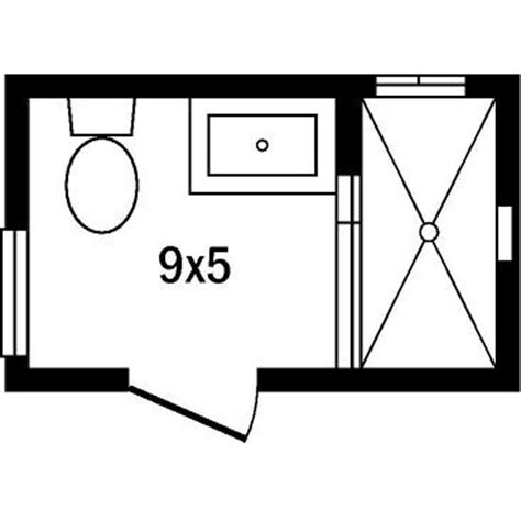 Floor Plan Small Bathroom by Master Bath Floor Plans