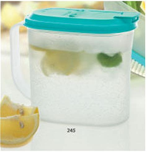 Tupperware Crescendo Jug 1 L tupperware indonesia 1 l fridge jug katalog tupperware promo