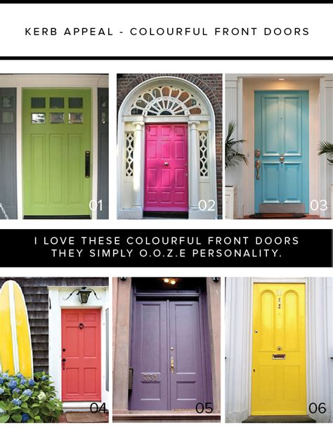 Colourful Door by The Best Choice Of Cool Front Doors For You Homesfeed