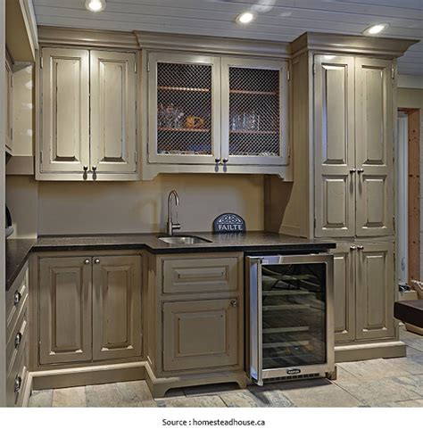 peinture d armoire de cuisine faience deco