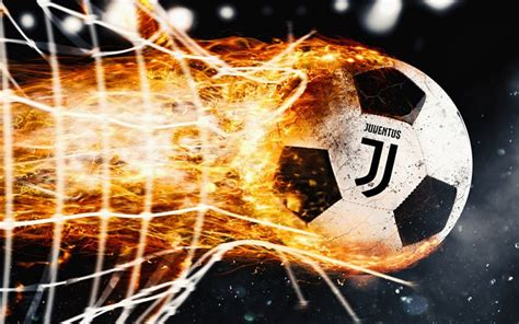 Download wallpapers Juventus, 4k, fire, new logo, flame ...