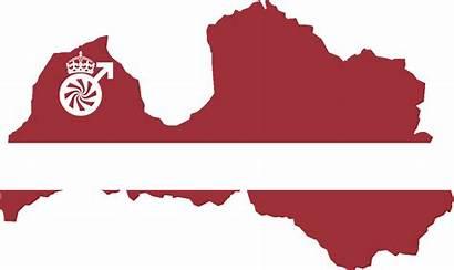 Flag Latvian Map Msk Wikia Alternative