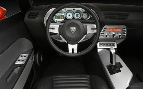 dodge challenger concept interior wallpaper hd car