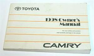 1998 Toyota Camry Owners Manual Guide Book Oem