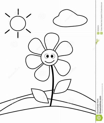Olds Coloring Pages Flower Printable Sheets Simple