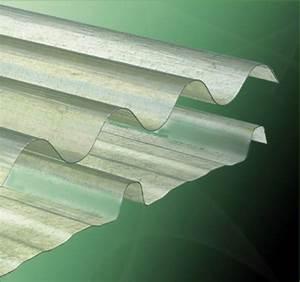 Plaque Ondulée Transparente Pas Cher : plaque polyester ondul e toit translucide ~ Nature-et-papiers.com Idées de Décoration