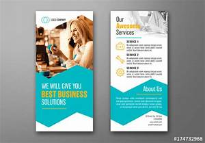 Business Dl Flyer Layout With Teal Accents 1  Buy This