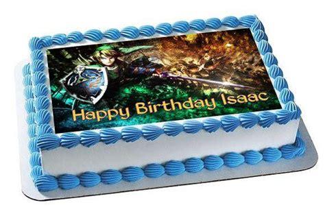 legend  zelda  edible birthday cake  cupcake