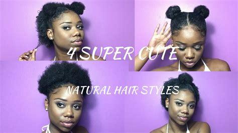 Super Cute Hairstyles For Short Natural Hair !