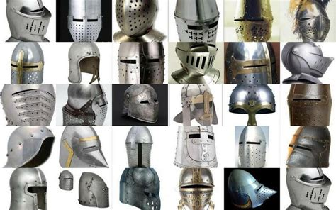 Medieval And Renaissance Helmets. Protection Wars In