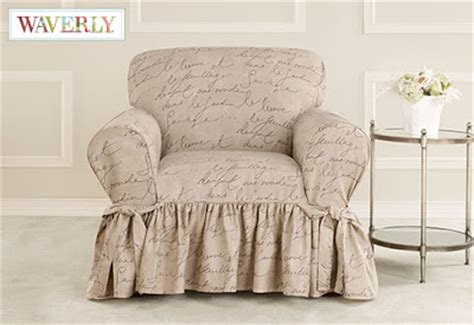 Sure Fit Slipcovers: New Arrival! Pen Pal, Waverly? by