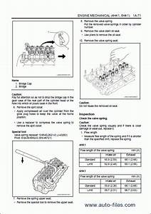 Hitachi Engine Manual 4hk1  6hk1  Isuzu   Repair Manuals