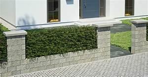 Beton Pflanzkübel Als Mauer : gartenmauer ganz einfach selber bauen obi gartenplaner ~ Udekor.club Haus und Dekorationen