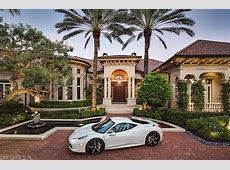$20 Million Newly Listed Waterfront Estate In Naples, FL