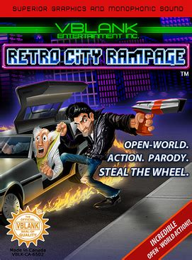 retro games wikipedia retro city rage