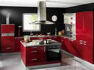 idee amenagement cuisine americaine les cles de la maison With idee cuisine americaine