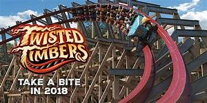 Kings Dominion announces Twisted Timbers for 2018