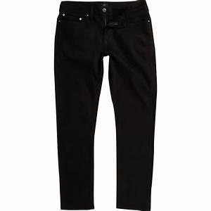 Jean Slim Noir Homme : dylan jean slim stay noir noir homme river island ~ Voncanada.com Idées de Décoration