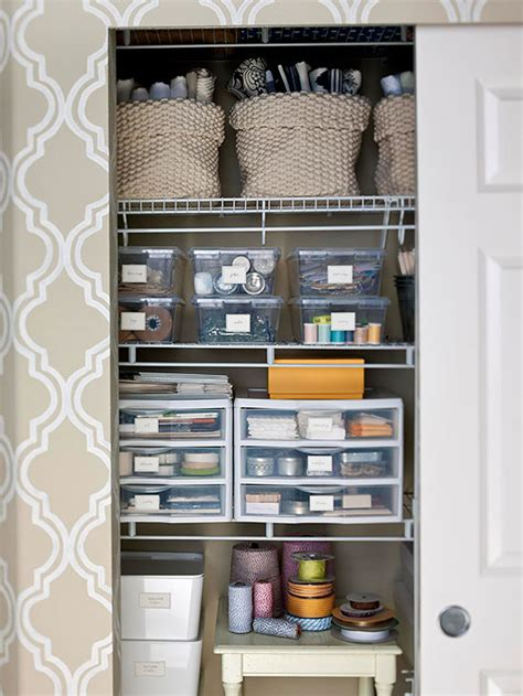 Closet Organization Ideas For Crafts by Inspiration Craft Closet Organization The Inspired