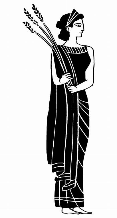 Olympus Demeter Goddess Ceres Deity Harvest Olympian