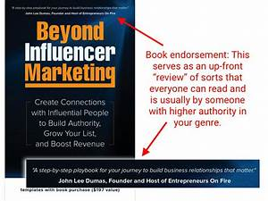 Sample Snag List 5 Simple Steps To Snag Book Endorsements From A Marketing Mba