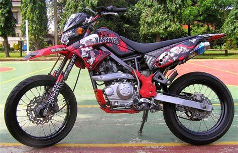 Klx 250 Modifikasi Motocross by 50 Gambar Modifikasi Kawasaki Klx 150 Supermoto Keren