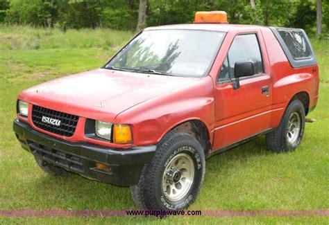 isuzu amigo purple wednesday june 17 vehicles and equipment auction in by