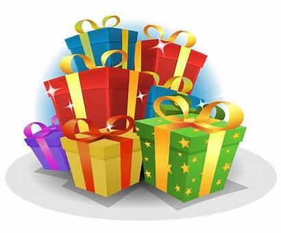 Birthday Gifts Happy Vector Pack Cartoon Illustration