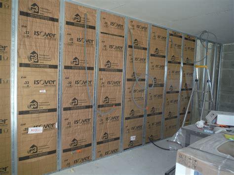 sup 233 rieur cuisine mur en 8 les cloisons isolation et placo r233nover soi m234me une