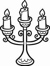 Kerze Kerzen Malbuch sketch template