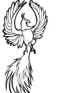 Drawing Easy to Draw Phoenix