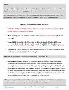 Cease And Desist Template Download Promoter Contract Template Pack Musiclawcontracts